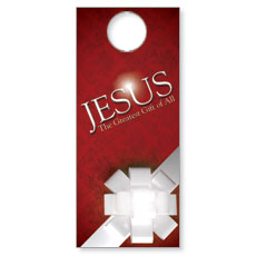 Jesus Greatest Gift Door Hanger