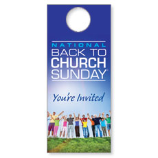 Back To Church Sunday 2013 Door Hanger