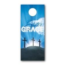 Easter Grace Door Hanger