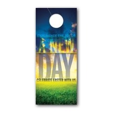 New Day Easter Door Hanger