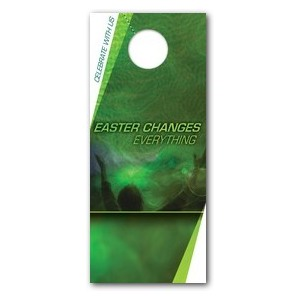 Easter Changes Door Hangers
