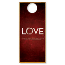 Real Love Door Hanger
