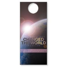 Changed the World Door Hanger