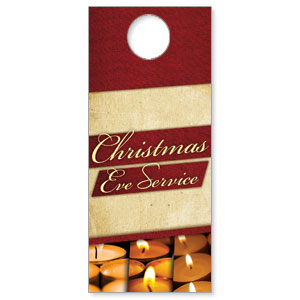Christmas Eve Lights Door Hangers