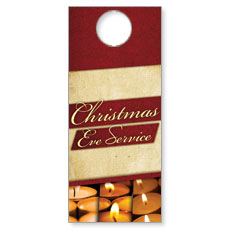 Christmas Eve Lights Door Hanger