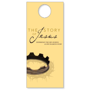 The Story of Jesus DoorHangers