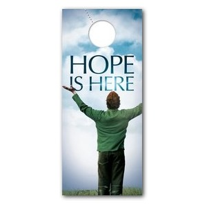Hope Is Here Door Hangers