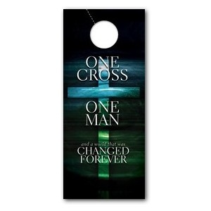 One Cross Door Hangers