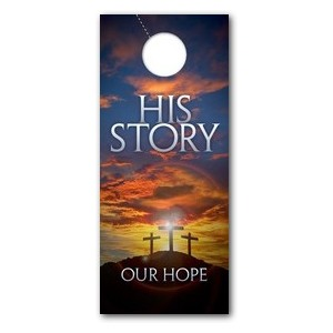 His Story Our Hope  DoorHangers