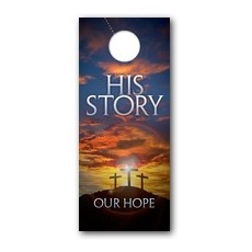 His Story Our Hope Door Hanger