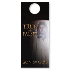 Son of God: True or False? Door Hanger