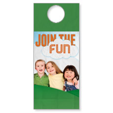 Fun Invitation Door Hanger