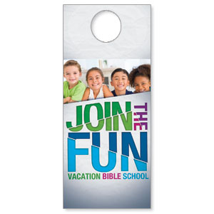VBS Green Blue Red DoorHangers