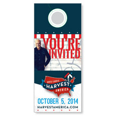 Harvest America 2014 Door Hanger