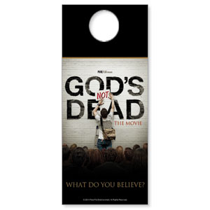 Gods Not Dead Door Hangers