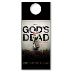 Gods Not Dead Door Hanger