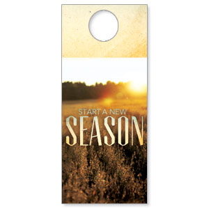 New Season Fall DoorHangers