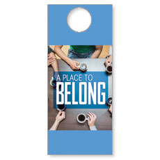 Overhead Belong Door Hanger