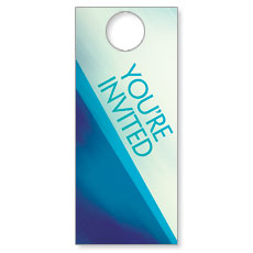 Color Rays Welcome Door Hanger