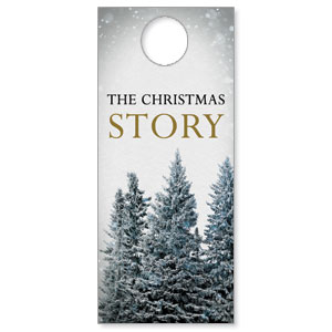 Christmas Story Trees Door Hangers
