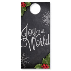 Chalk Joy Door Hanger