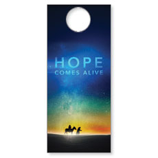 Hope Comes Alive Door Hanger