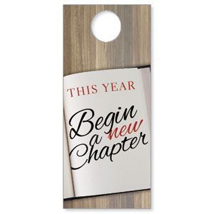 New Chapter Door Hangers