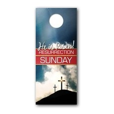 Risen Resurrection Door Hanger
