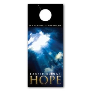 Hope Breaks Through DoorHangers
