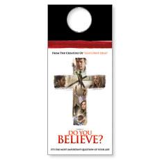 Do You Believe Door Hanger