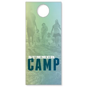Summer Camp DoorHangers