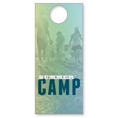 Summer Camp Door Hanger