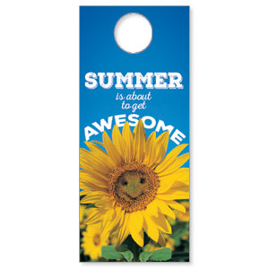 Summer is Awesome Door Hangers