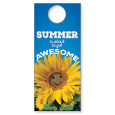 Summer is Awesome Door Hanger
