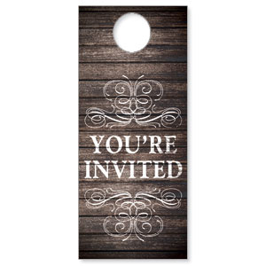 Rustic Charm Welcome Door Hangers