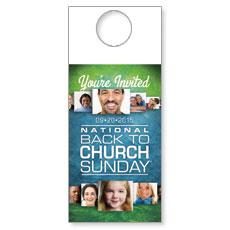 Back to Church Sunday 2015 Door Hanger
