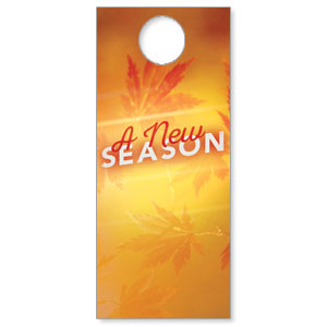 New Season Leaves DoorHangers
