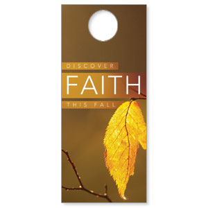 Fall Discover Faith Door Hangers