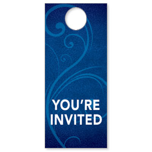 Flourish Welcome Door Hangers
