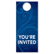 Flourish Welcome Door Hanger