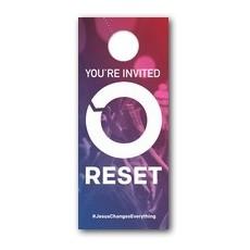 Reset Door Hanger