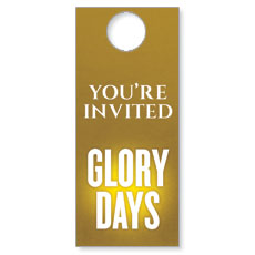 Glory Days Door Hanger