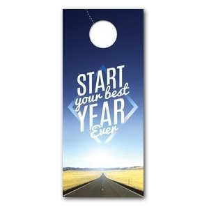 Best Year Ever DoorHangers