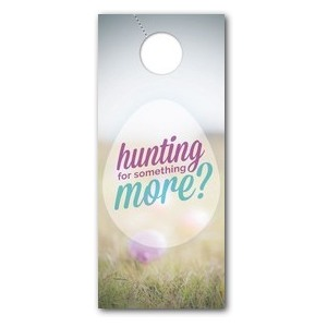 Hunting For Something More Door Hangers
