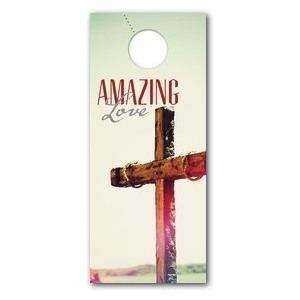 Amazing Love Cross DoorHangers