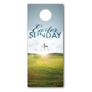 Easter Hillside Door Hangers