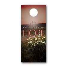 Easter Hope Daisy Door Hanger