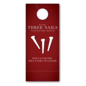 Three Nails Door Hangers