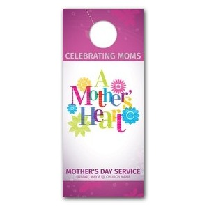 A Mothers Heart Door Hangers