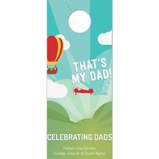 Thats My Dad Door Hanger